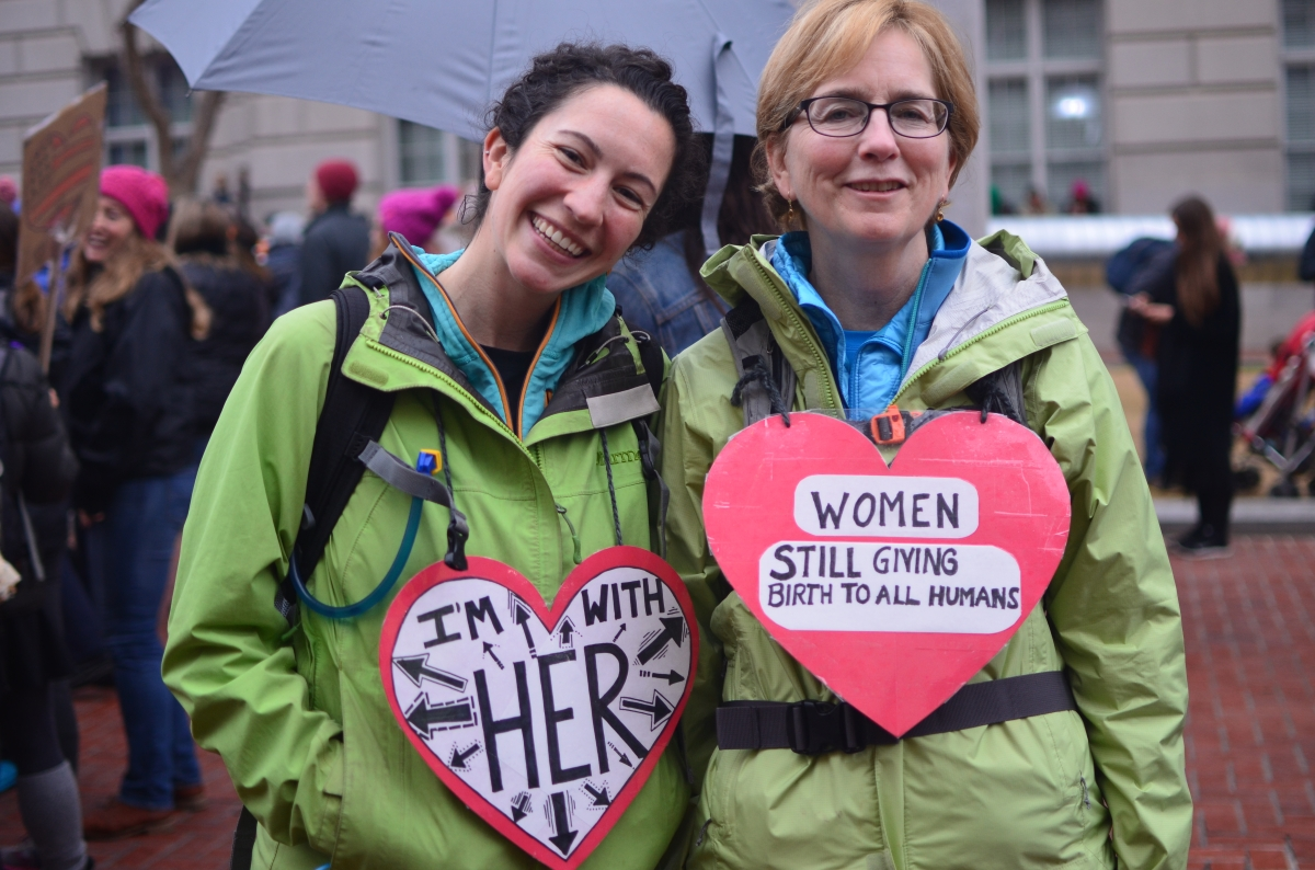 San Francisco Women's March - in pictures